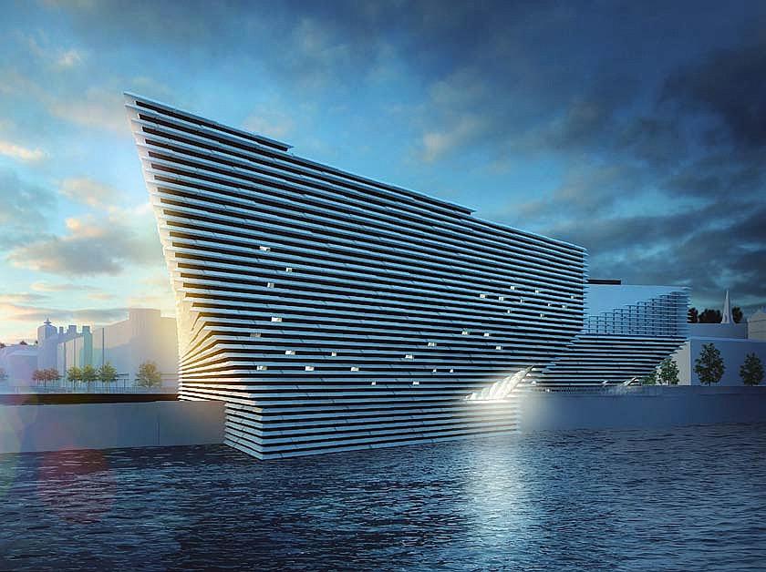 Музей Виктории и Альберта в Данди станет центром обновленной набережной, в благоустройство которой инвестируют £1 млрд / V&A DUN DEE