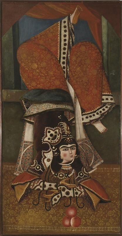 Иранскую масляную живопись из коллекции V&A объединят с привозными экспонатами / © Victoria and Albert Museum, London