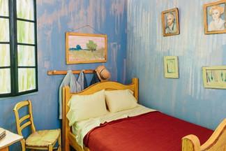 Институт искусств Чикаго воссоздал комнату, изображенную на картине Ван Гога «Спальня». Теперь ее мо