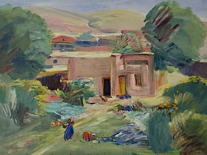 Мартирос Сарьян. «Домик в саду». 1935. Национальная галерея Армении