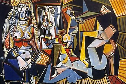 """Пабло Пикассо, полотно «Алжирские женщины (Версия """"О"""")», 1955 год"""