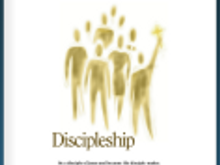 """""""AND YOU SHALL BE MY DISCIPLES"""" – The Book"""