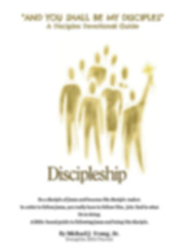 AND YOU SHALL BE MY DISCIPLES book cover