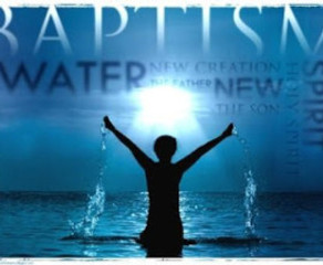 REPENT AND BE BAPTIZED – EVERY ONE OF YOU