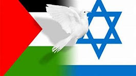Palistinian Israeli flags and peace.jpg