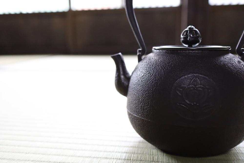 三代畠春斎作 オーダーメイド鉄瓶|Hata Shunsai ironkettle