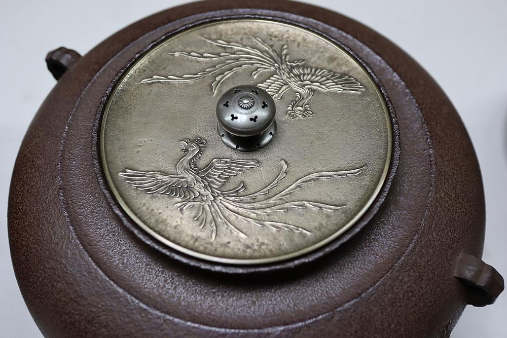 角谷一圭氏の茶釜