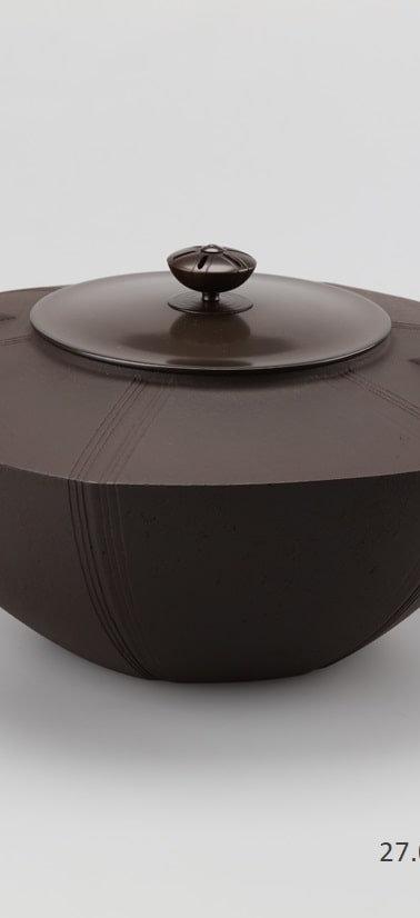 三代畠春斎❘2017日本伝統工芸展|六角釜|Hexagonal tea ceremony kettle
