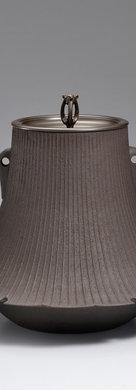 三代畠春斎❘2016日本伝統工芸富山展|富士釜|Fuji shape tea ceremony kettle