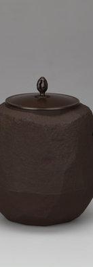 三代畠春斎❘2015日本伝統工芸金工展|面取釜|Chamfered tea ceremony kettle