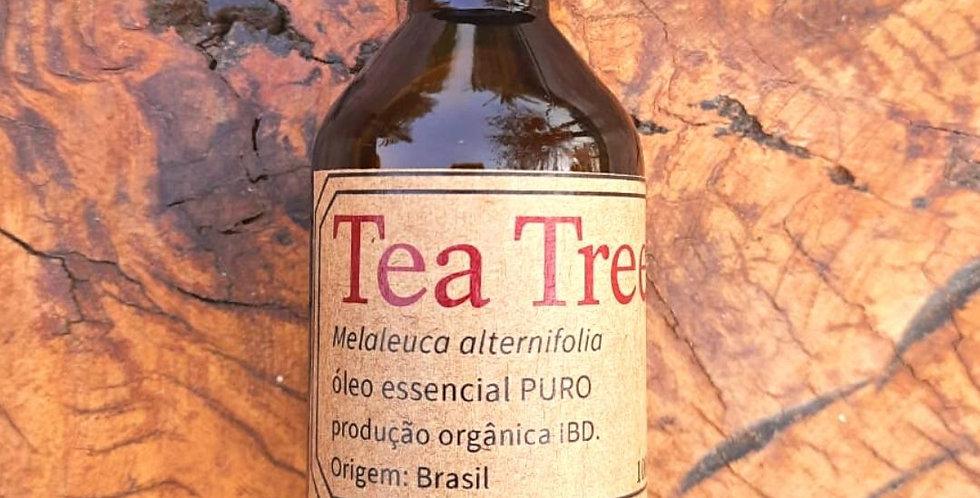 Óleo Essencial Tea Tree/ Melaleuca Orgânico 100 ml