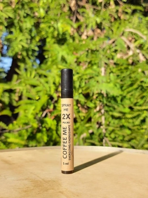 Spray Óleo Essencial Coffee Energizante Orgânico 5 ml