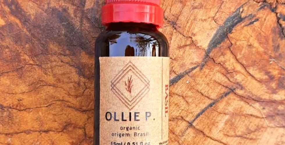 Óleo Essencial  Basil/ Manjericão Orgânico 15 ml