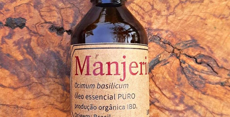 Óleo Essencial Basil/ Manjericão Orgânico 100 ml