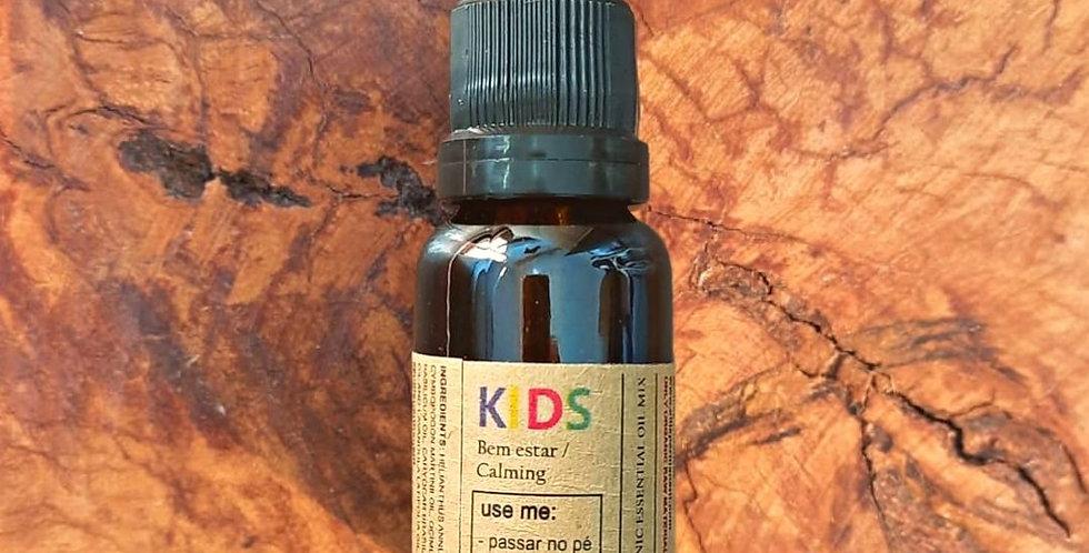 Óleo Essencial mix Kids Calming Orgânico 15 ml