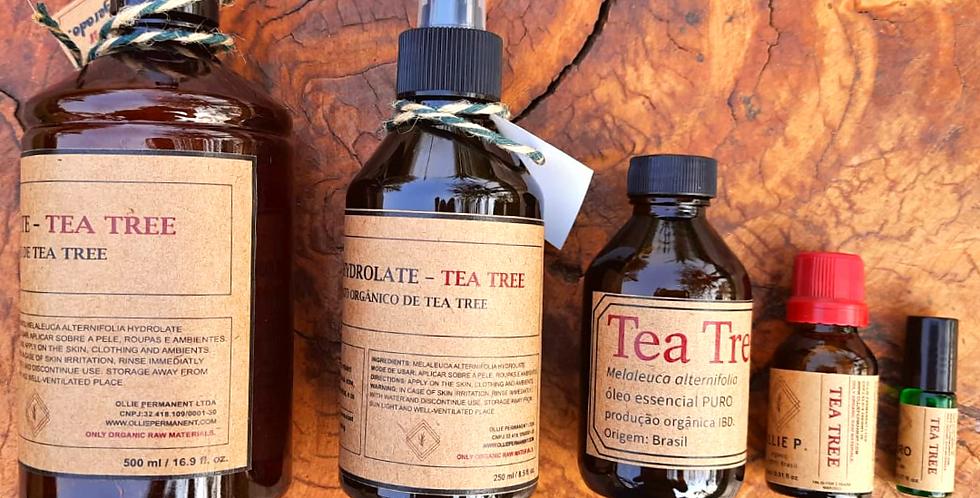 Kit Tea Tree/ Melaleuca orgânica
