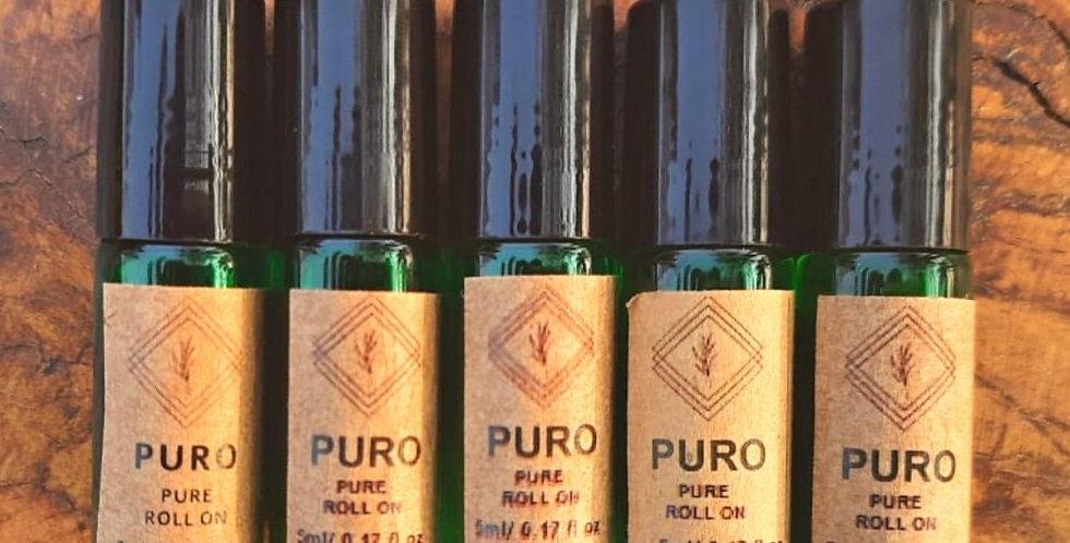 Combo Especial 5 óleos essenciais orgânicos 5 ml roll-on