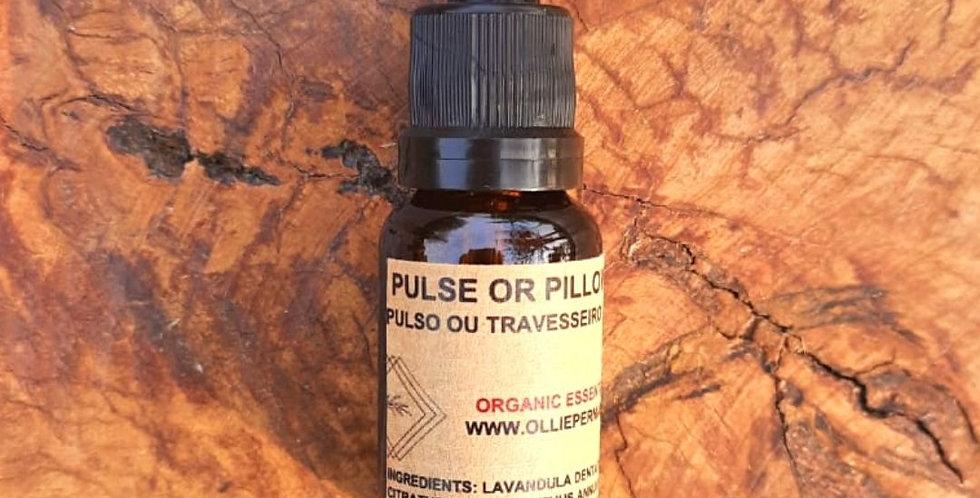 Óleo Essencial Pulse or Pillow Orgânico 15 ml conta-gotas
