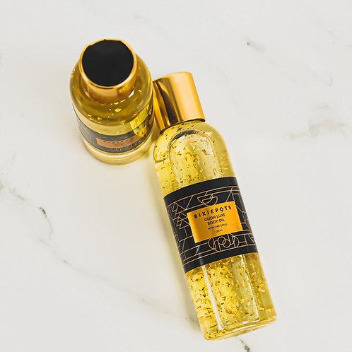 Oudh Luxe 24K Gold Body Oil 150ml