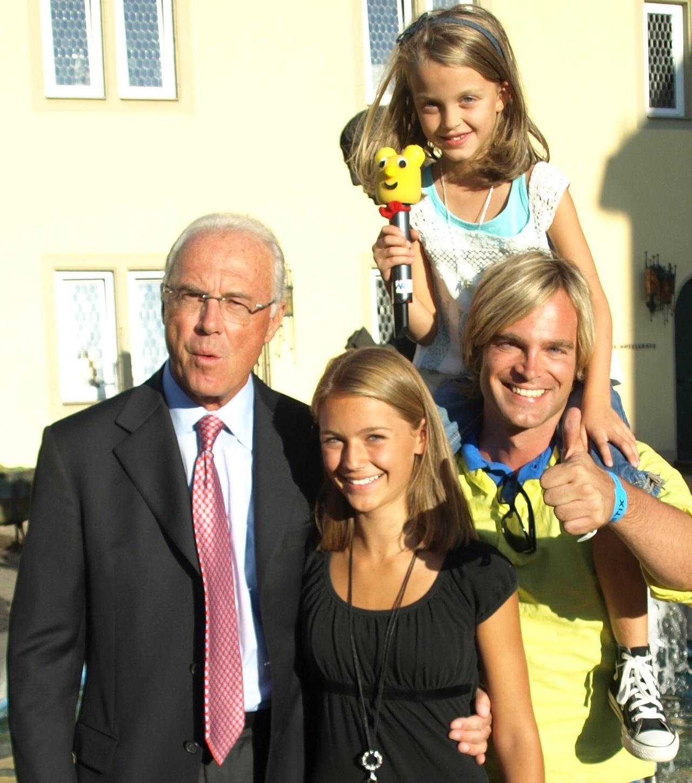 Tim Wilhelm trifft Franz Beckenbauer