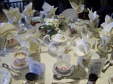 Vintage Tea Party Fine China Rentals