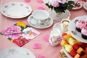 Afternoon Tea Menu