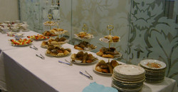 Buffet style Breakfast at Tiffany's