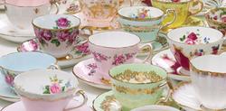 Colored Teacups