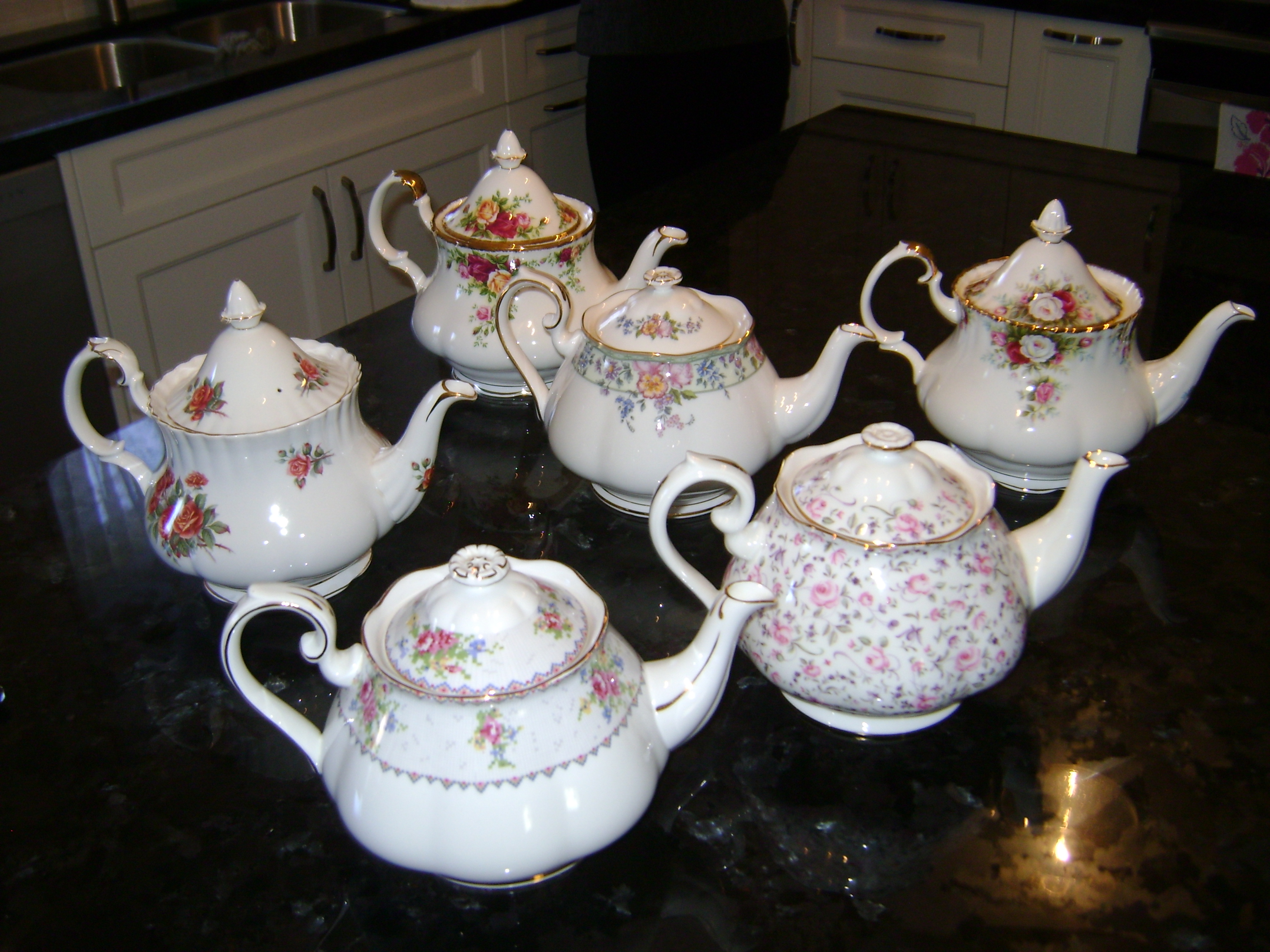 Royal Albert Tea Pots