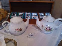 Fine china teapots