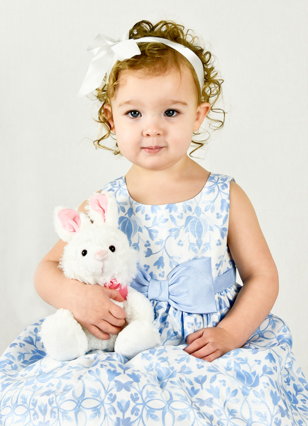 Easter Picture - Child Photography