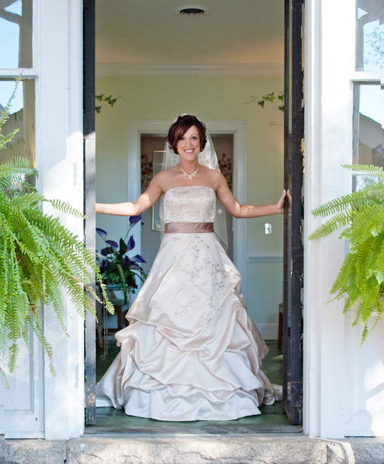 Bridal Session at Annie Penn House in Reidsville, NC