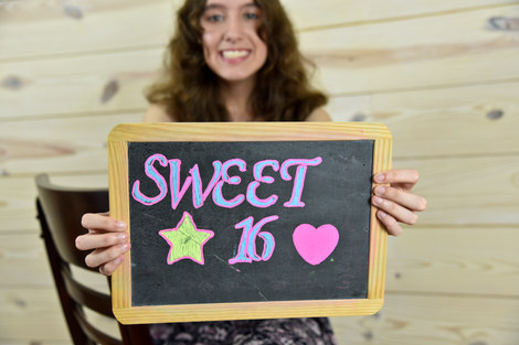 Sweet 16 Portrait Session