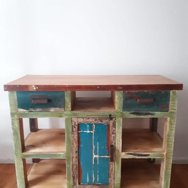 Barra de madera 'Colors'