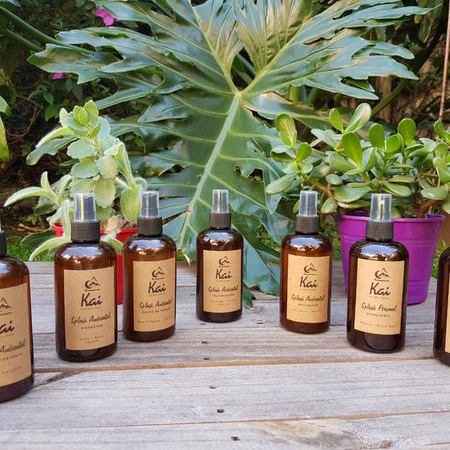 Splash Aromaterapéuticos