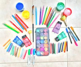 צבעים מכל מיני סוגים