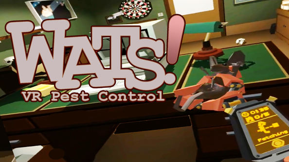 Wats! VR Pest Control - now on OculusGo and GearVR!