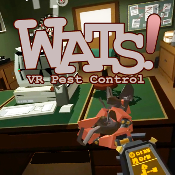 Wats! VR Pest Control - now available on OculusGo and GearVR!