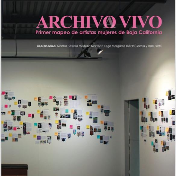 Archivo Vivo. Primer mapeo de artistas mujeres de Baja California.