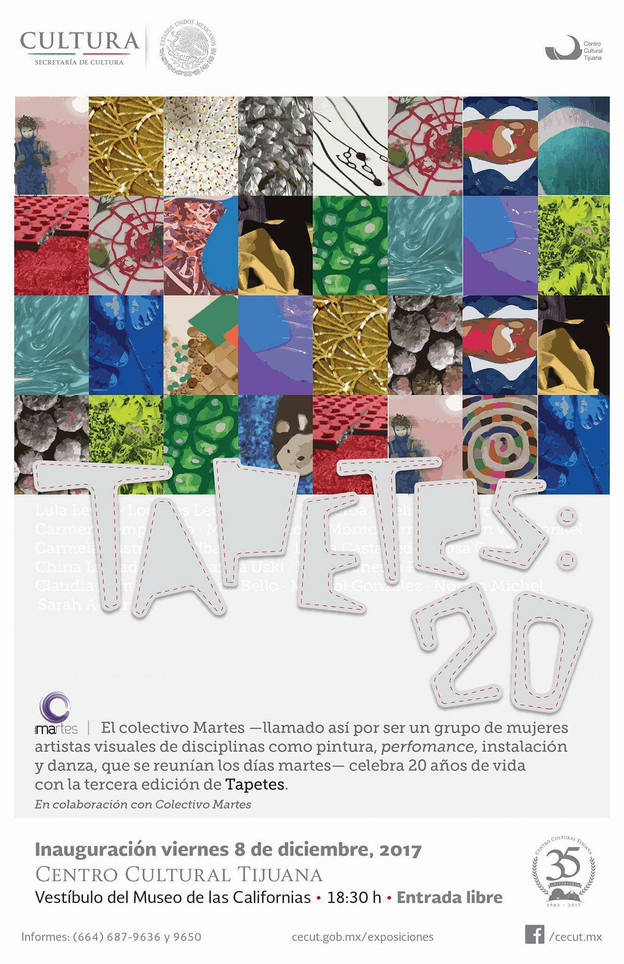 20 aniversario del Colectivo MArtes.