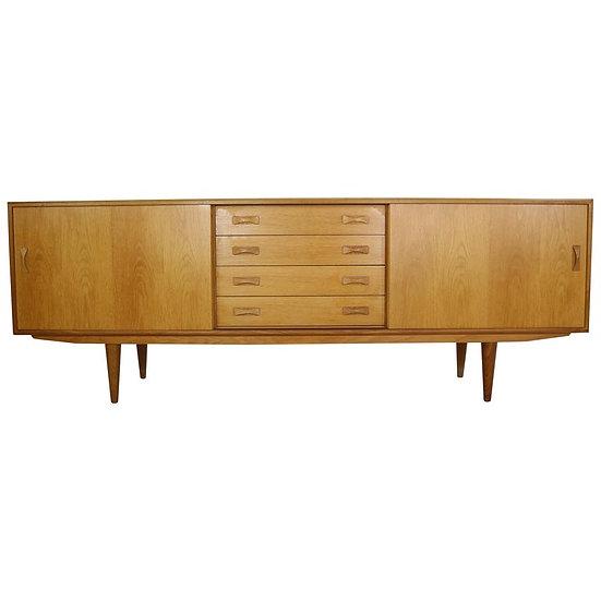 Danish Design Oak Sideboard by Clausen & Søn, 1960s