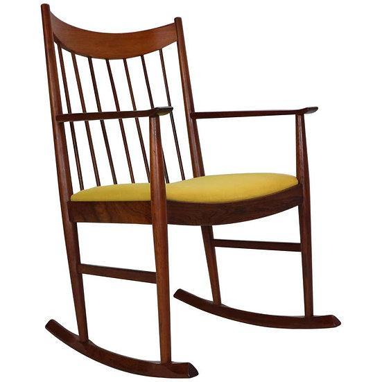 Arne Vodder Rocking Chair for Sibast, 1960s, Denmark