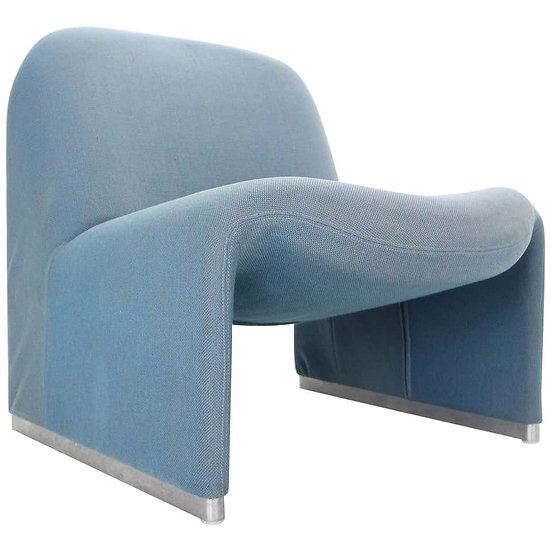 Alky Lounge Chair by Giancarlo Piretti for Castelli, 1970s, Italy
