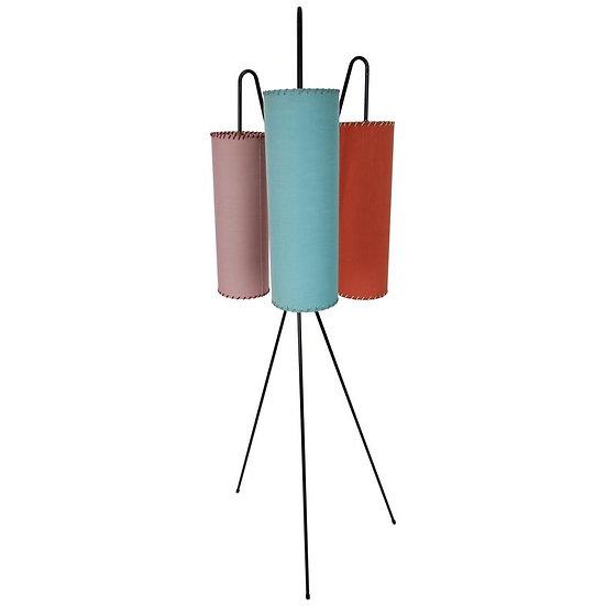 Midcentury Tripod Floor Lamp, 1950s, France