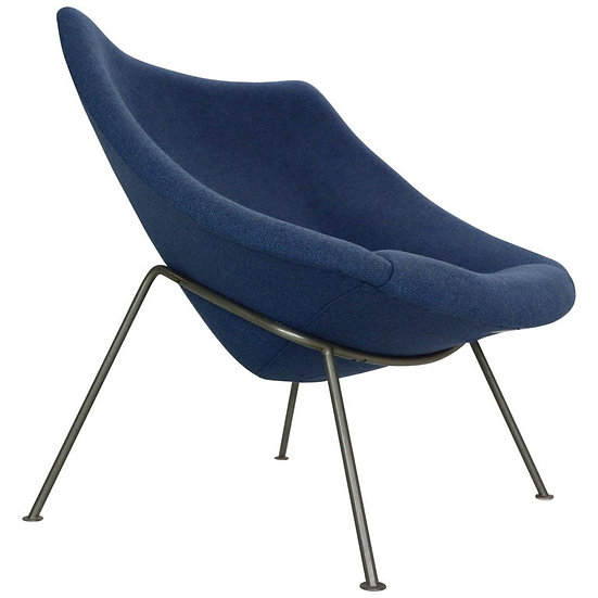 """Pierre Paulin F157 """"Oyster"""" Lounge Chair for Artifort, 1964"""