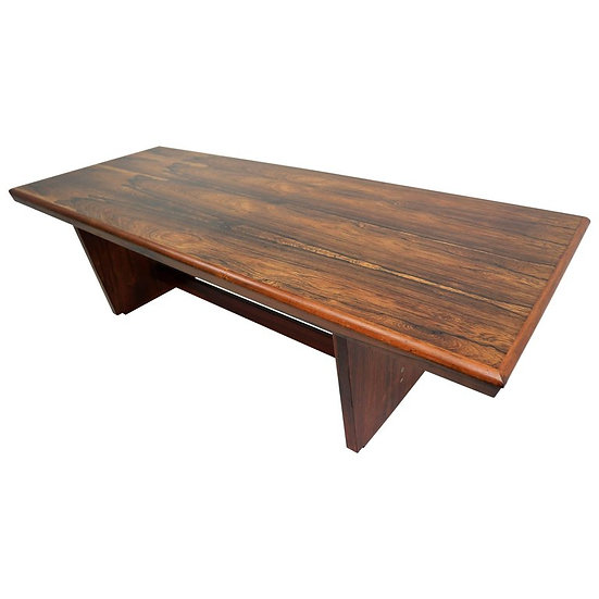 Rosewood Coffee Table by Unknown Designer, 1970s