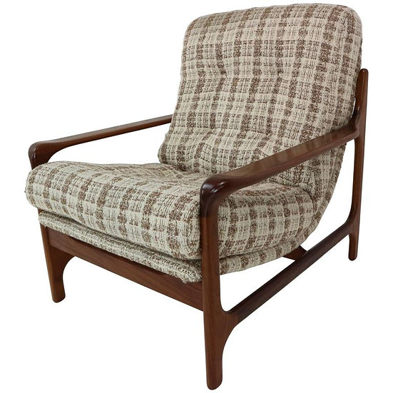 90Danish Design Armchair Made of Rosewood