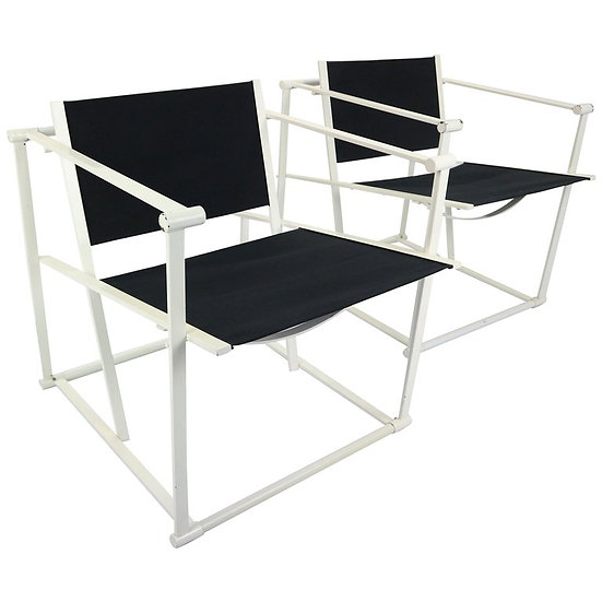 Set of 2 Radboud Van Beekum Fm62 Cube Chairs for Pastoe, 1980s Dutch Design