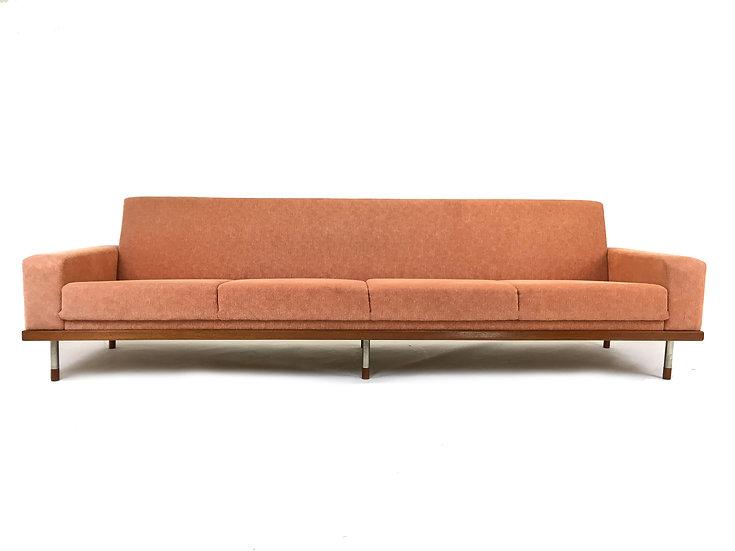 Teak Four-Seater Sofa, 1960s