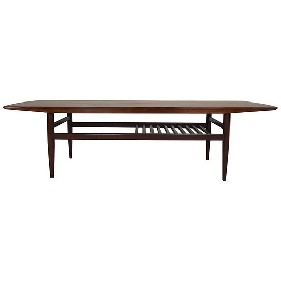 Midcentury Rosewood Coffee Table Danish Design, 1960s